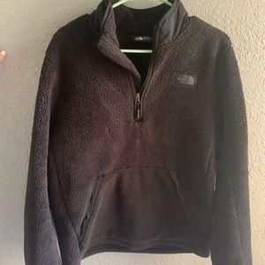North Face Sherpa half zip pullover
